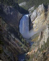 Lower Falls Yellowstone Fine Art Print