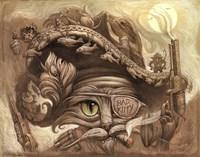 Bandito Cat Fine Art Print