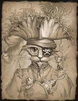 Captain Claw Fine Art Print