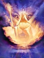 Christian Lion Of Judah Fine Art Print
