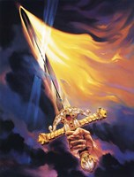 Christian Sword Of Spirit Fine Art Print
