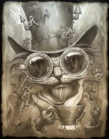 Steampunk Cat Fine Art Print