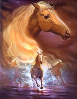 Fantasy Horse Dreams Fine Art Print