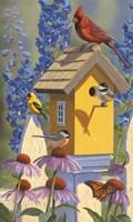 The Yellowbird House Fine Art Print