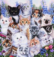 Kitten Collage Fine Art Print