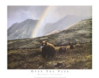 Over The Pass Fine Art Print