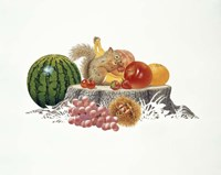 Fruits Fiesta Fine Art Print