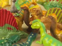 Toy Dinos Fine Art Print