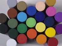 Round Pastels Fine Art Print
