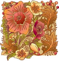 Fall Flowers I Fine Art Print