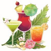 Tropical Drink II Fine Art Print