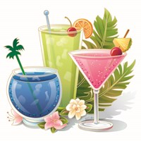 Tropical Drink IV Fine Art Print