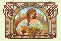 Fall Nouveau Fine Art Print