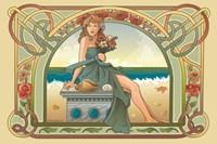 Summer Nouveau Fine Art Print