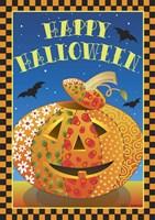 Patchwork Pumpkin Fine Art Print