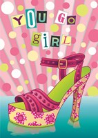 You Go Girl Fine Art Print
