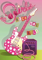 Girls Rock and Rule Fine Art Print
