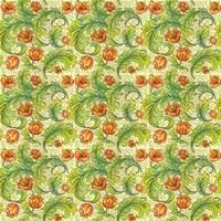 Modern-Morris-pattern Fine Art Print