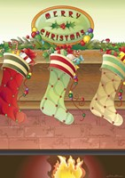 Stockings were Hung? Fine Art Print