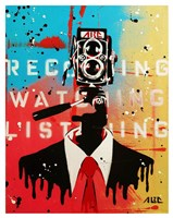NSA Camera Man Fine Art Print