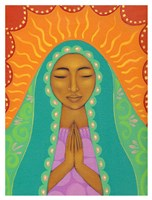 Virgin de Guadalupe Fine Art Print