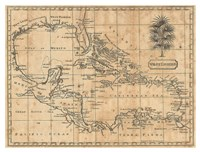 Caribbean, 1806 Fine Art Print
