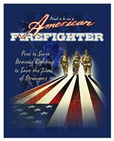 American Firefighters Fine Art Print
