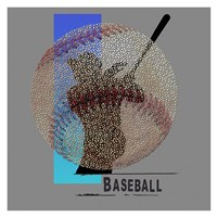 Baseballl Player Fine Art Print