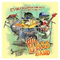 Bass Band Fine Art Print