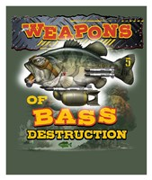 Bass Destruction Fine Art Print