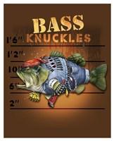 Bass Knuckles Fine Art Print
