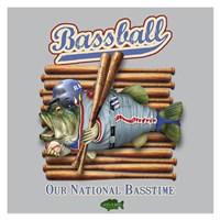 Bassball Fine Art Print