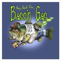 Bassin' Gas Fine Art Print