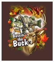 Bassin' the Buck Fine Art Print
