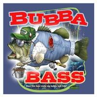 Bubba Bass - Blue Fine Art Print