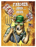 Deer / Deer / Elk John Fine Art Print