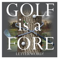 Fore Letter Word Fine Art Print
