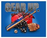 Gear Up Baseball Fine Art Print