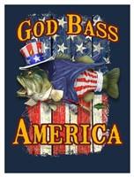God Bass America Fine Art Print