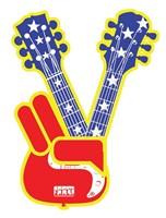 Guitar Peace Fine Art Print