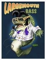 Largemouth Bass Fine Art Print