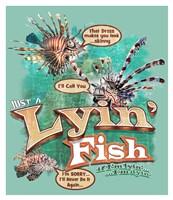 Lyin' Fish Fine Art Print