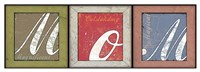 Mom 3 Frames Fine Art Print