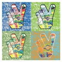 Peace in all Colors Fine Art Print