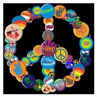 Pin Up Peace Fine Art Print