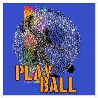 Play Ball Soccer Fine Art Print