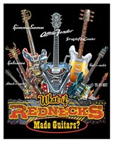 Redneck Guitar Fine Art Print