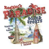 Redneck Paradise Fine Art Print