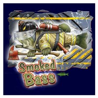 Smoked Bass Fine Art Print