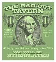 The Bailout Tavern Fine Art Print